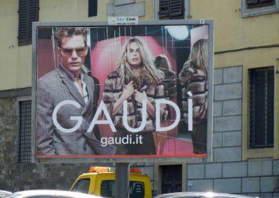 Affissione a Firenze per Pitti Immagine