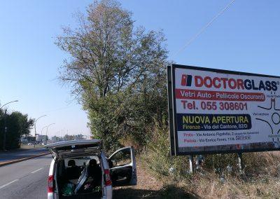 Affissione outdoor nuova sede di Osmannoro
